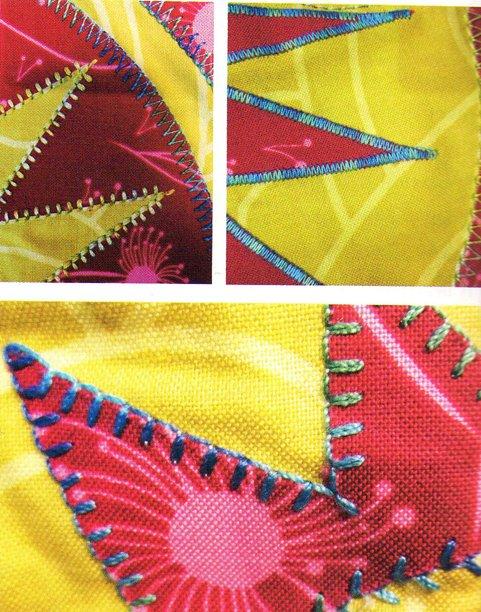 Decorative Stitch Applique