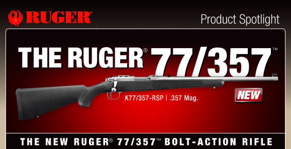 Ruger's New 77/357 - Could it be the Ultimate Survival Rifle?