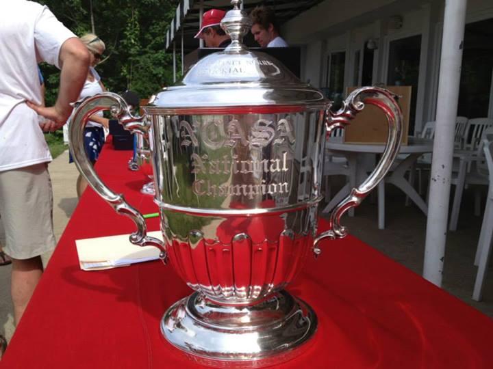 a trophy
