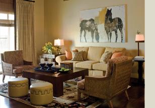 Phoenician Living Room