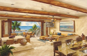 Encanto Villas Living Room