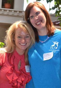 KSYLF Delegate, Erica, with her mentor Lauren