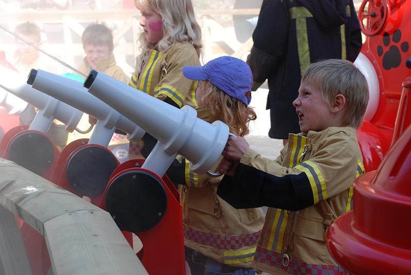 Kongeparken - Children's Firestation working the waterjets - GW Group