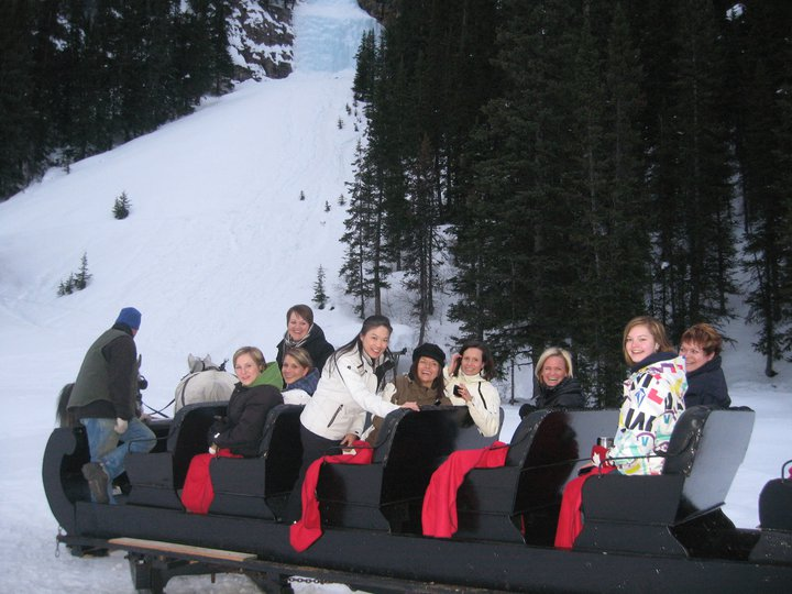 2011 lake louise sleigh ride