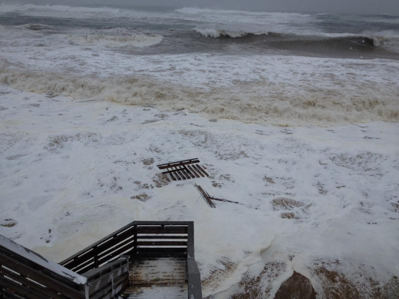 Nauset beach steps