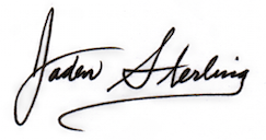Jaden Sterling's Signature