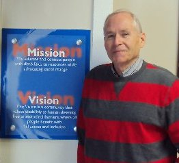 Ron Lambe with Vision & Mission Statements