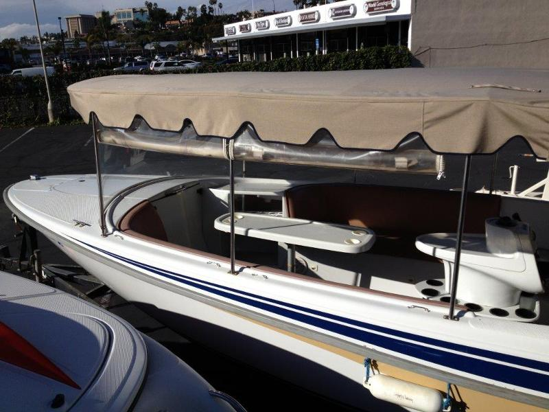 Pre-Lear Electric Boat Soft-Top for Sale