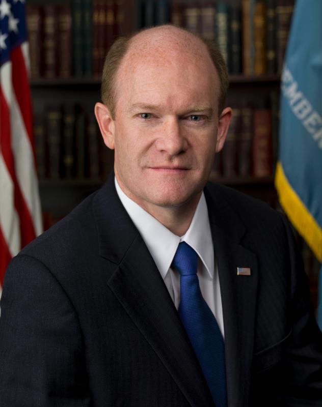 US Senator Chris Coons