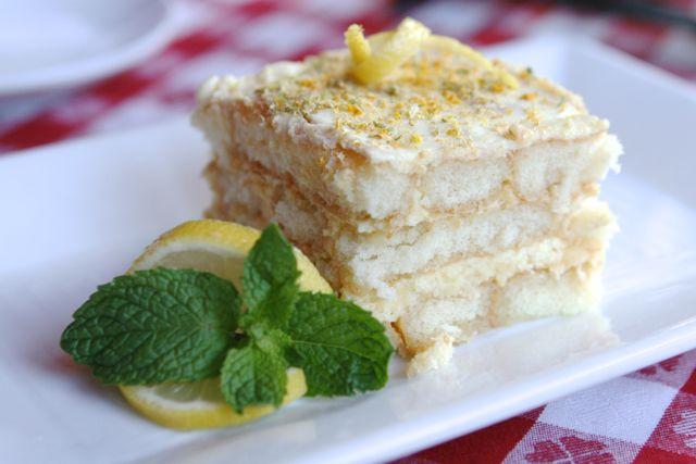 LIDI Limoncello Cake