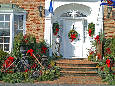 Viette Front Porch Christmas