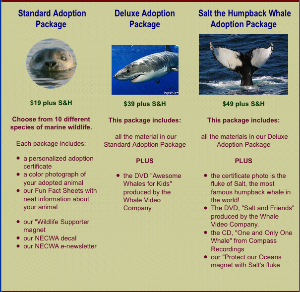 Adoption Package Prices
