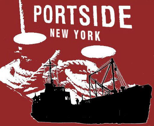 PortSide + Mary Whalen logos combined