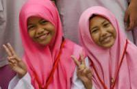 peace children arab