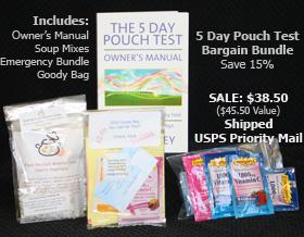 5 Day Pouch Test Bargain Bundle - Great Value