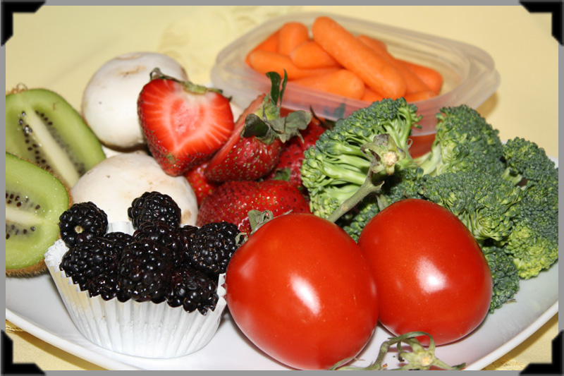 Veggie Fruit Carbs