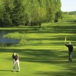 Golfing at Boyne