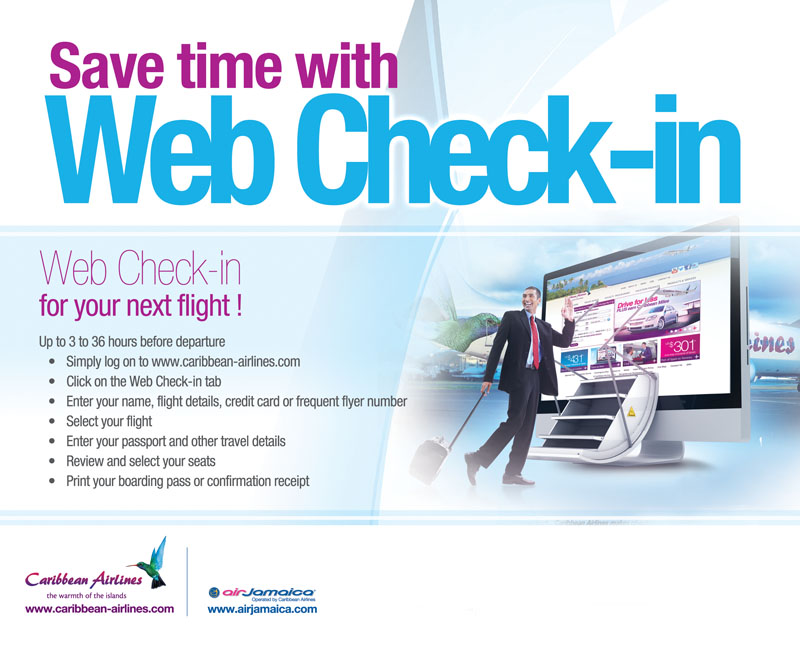 Caribbean Airlines: Web Check-in for your next Flight!