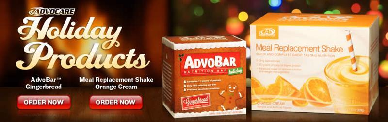 Healthy Happy Holiday Season from AdvoCare