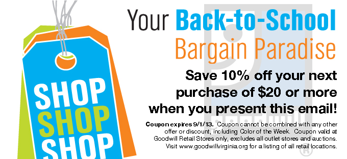 August Retail Coupon 2013