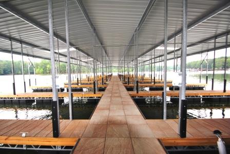 Brand New Docks at Glade Marina