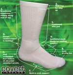 Covert Threads PT Socks