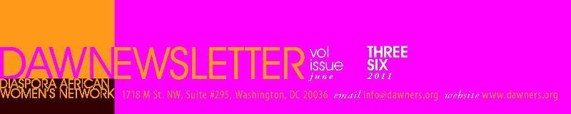 June 2011 newsletter header