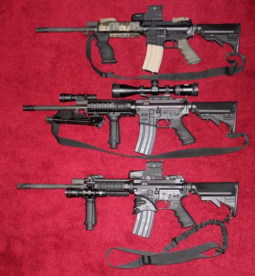Rifles of Phil, Gary, Corey