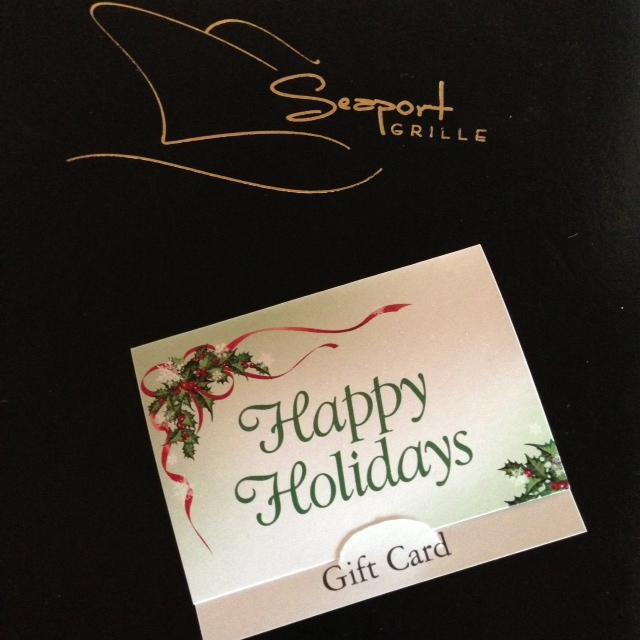 Seaport Grille Gift Card