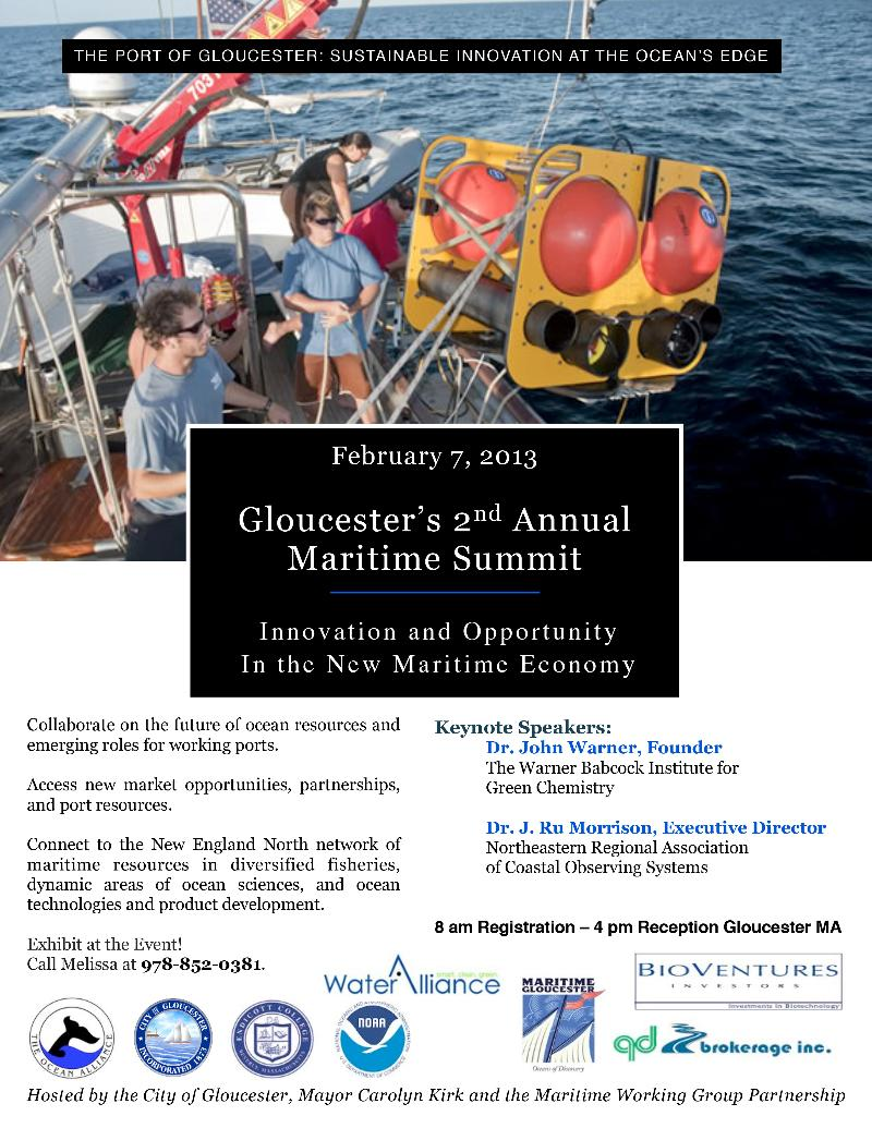 save date maritime summit