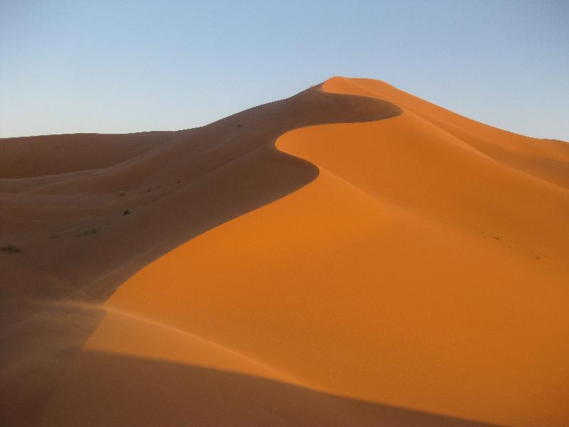 Morocco sand dunes