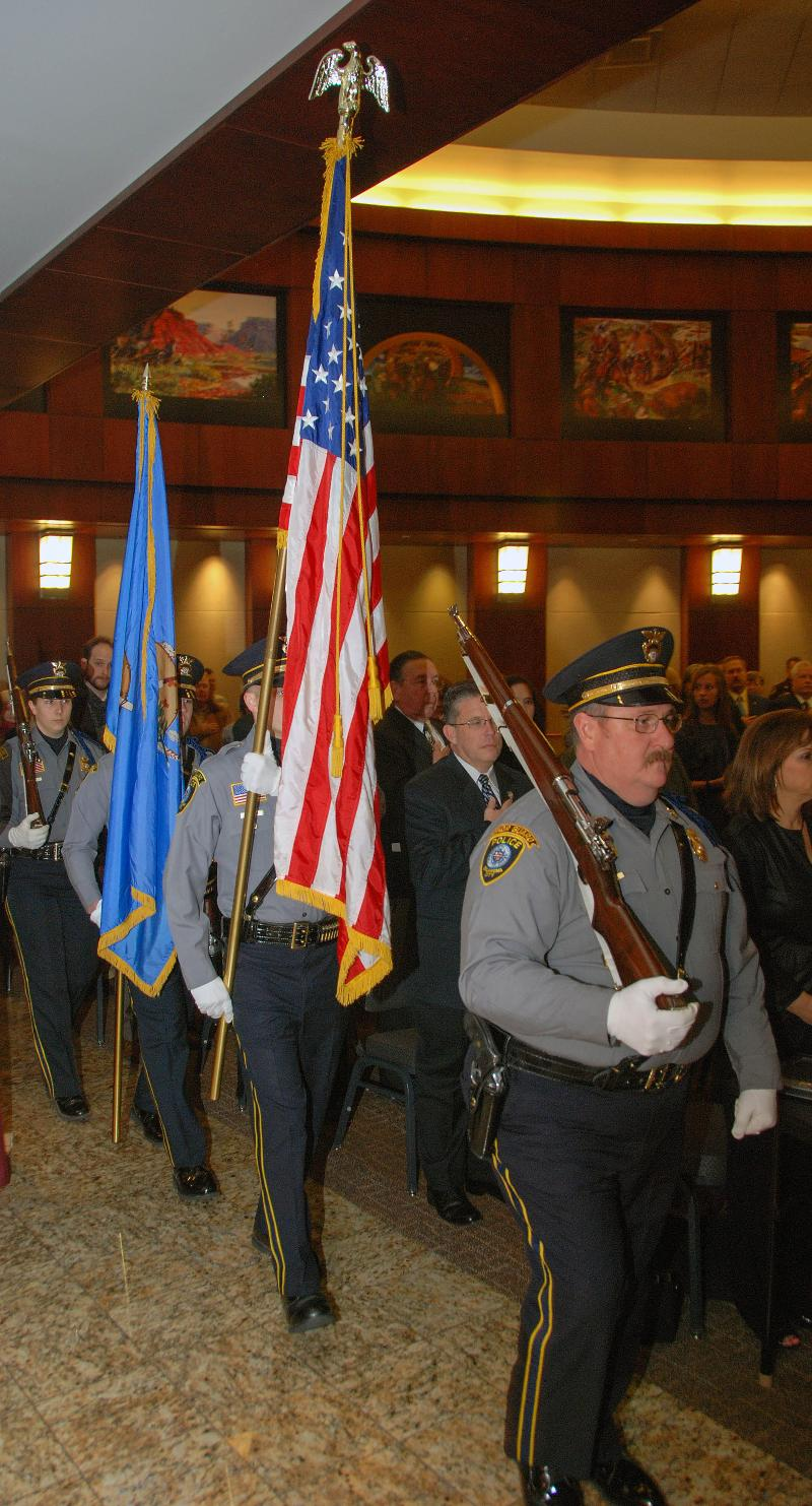 OCPD Honor Guard 2012