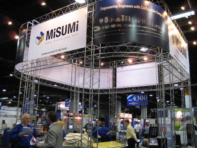 Misumi Trade Show Booth