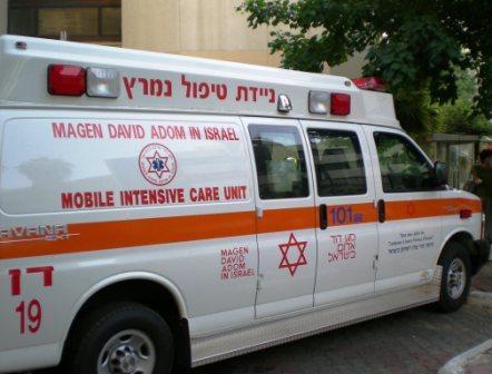 ambulance israélienne