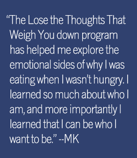 MK Quote - Lose The Thoughts