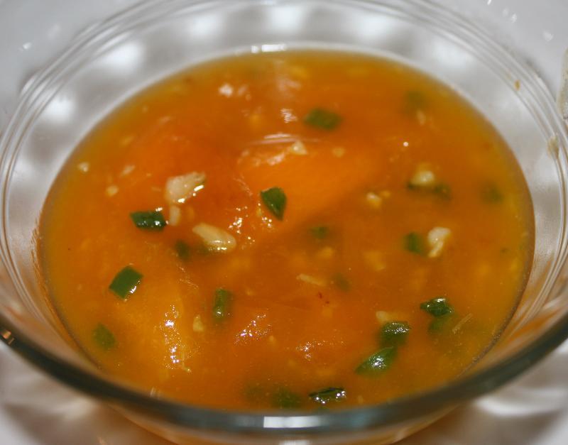 finshed sauce!