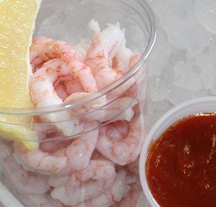shrimp cocktail!
