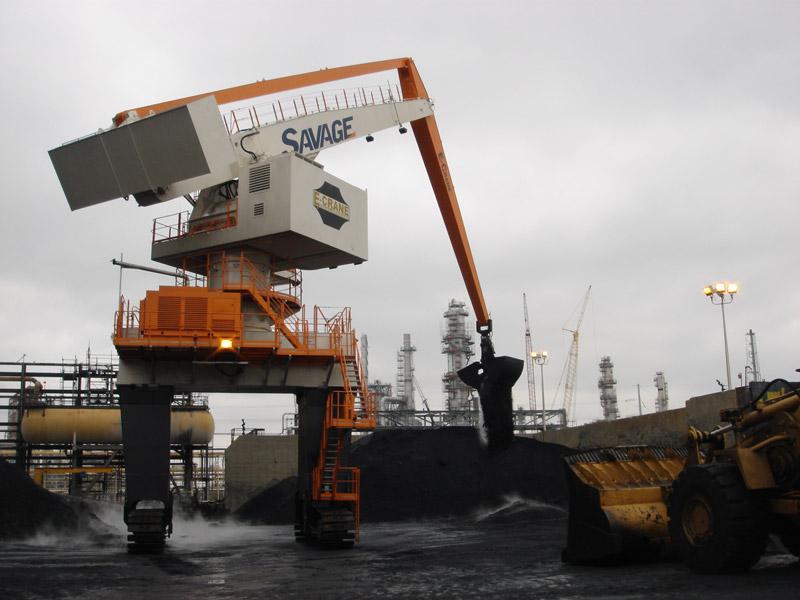 New E-Crane installation