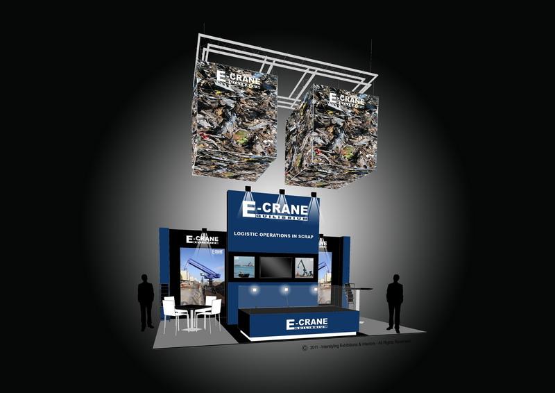 Booth E-Crane� at Metec 2011