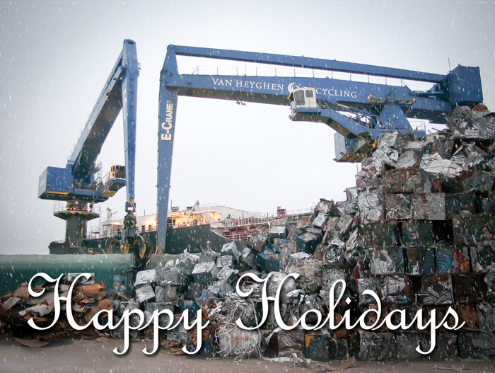 Happy Holidays - From all of us at E-Crane