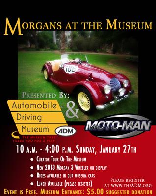 Morgan at the Museum