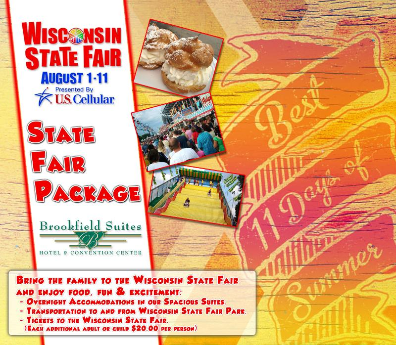 Wisconsin State Fair Hotel Package