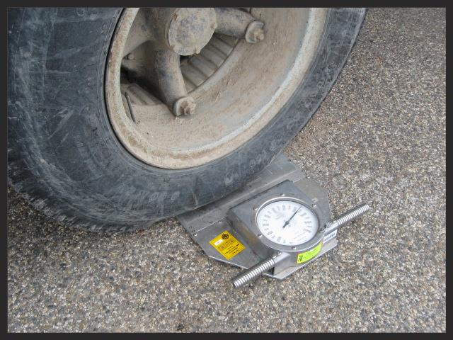 Vehicle Axle Weights : Truck weight education and outreach program