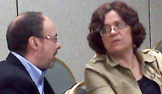 Professors Finegold and Eaton