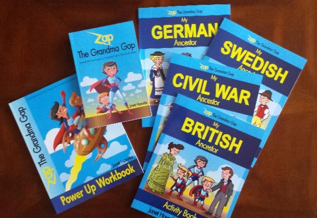 Zap The Grandma Gap Books