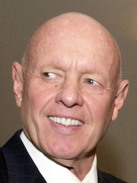 Stephen R. Covey, the motivational speaker best known for the book The Seve