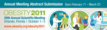 Obesity 2011 Abstract Banner