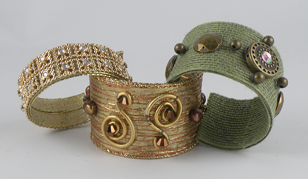 Paper Towel Bracelets