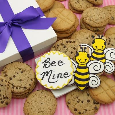 Valentines Bee Mine Cookies