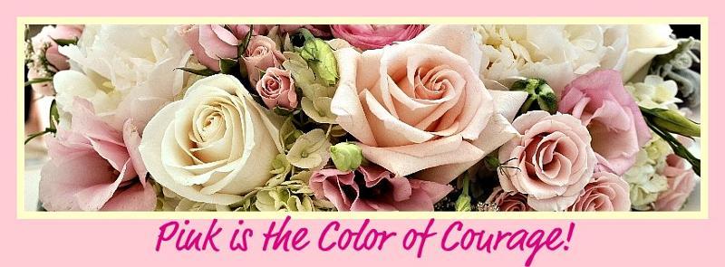 Header Pink White Roses